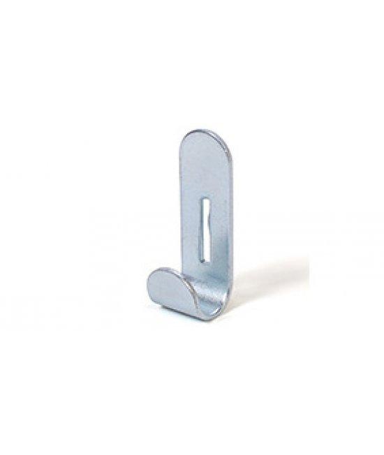 Крючок простой стальной в комплекте 5 шт.